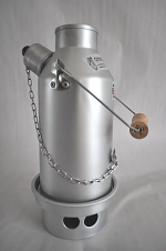 Silver Anodised Gillie Kettles (Various Sizes Available)